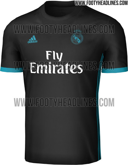 c61579244fe Whereas the new Real Madrid 17-18 home kit boasts a unique design on the  front