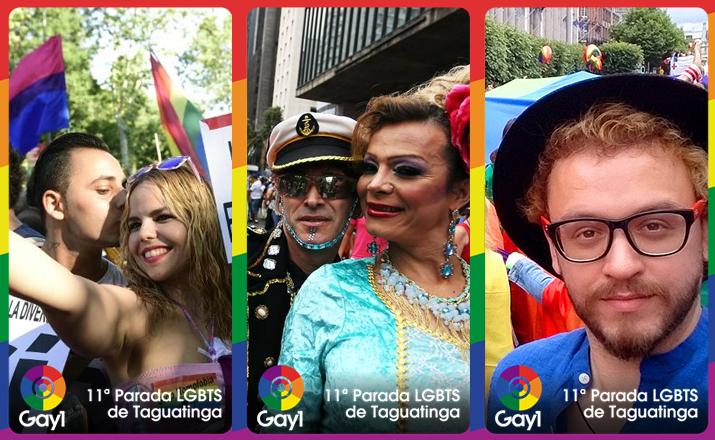 Parada LGBT de Taguatinga vai ter geofilter especial do Gay1 no Snapchat