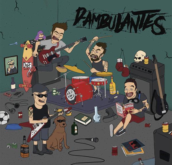 D-Ambulantes stream new Self-Titled EP