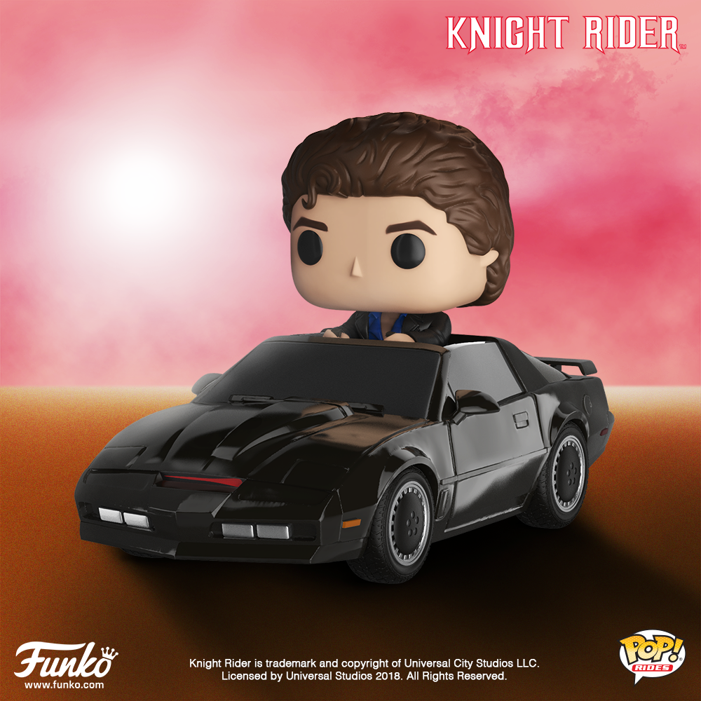 33a94ede7 Pop! Rides: Knight Rider – Michael Knight with Kitt (for August Release)