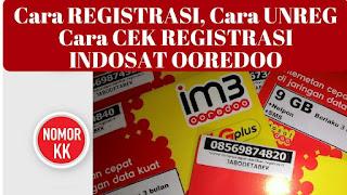 Penggunaan gadget sekarang ini semakin canggih Cara Cek Registrasi Kartu Indosat Melalui Website