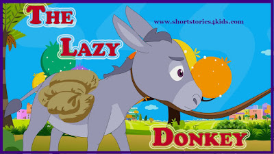 The Lazy Donkey Story with picture and pdf