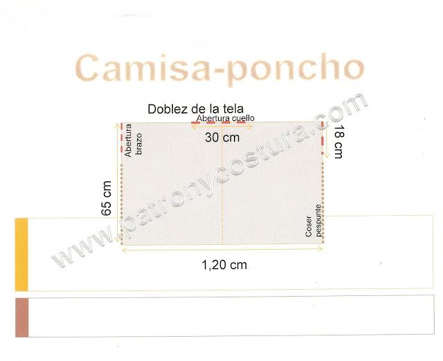 www.patronycostura.com/camisa-poncho