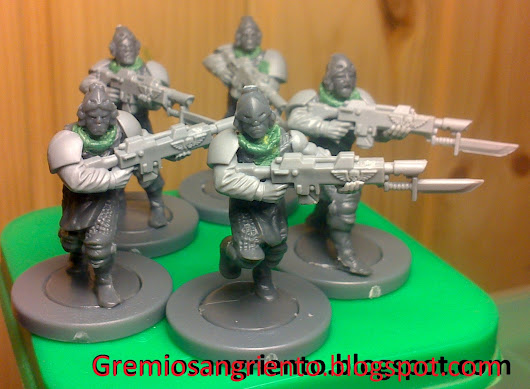 New troops, conversions.