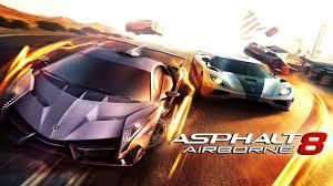 تحميل لعبة سباق السيارات اسفلت download asphalt 8 airborne car racing game