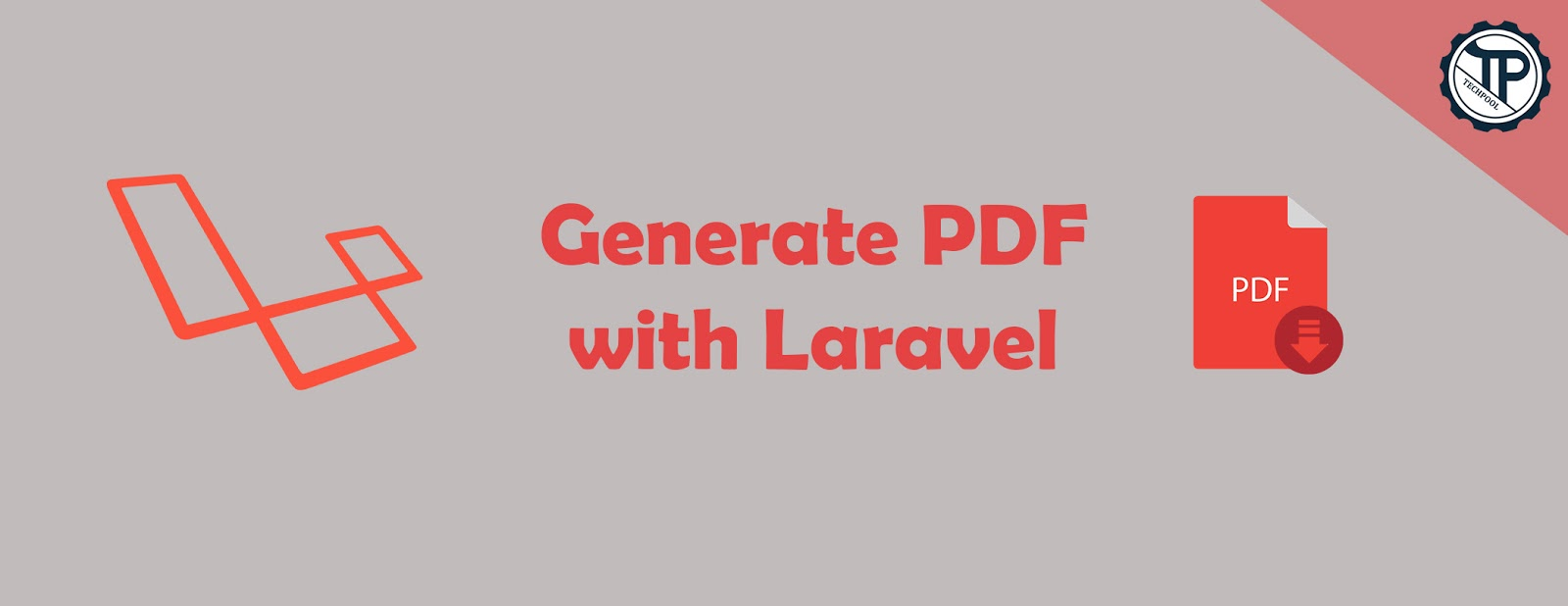 Generate PDF using TCPDF library with Laravel