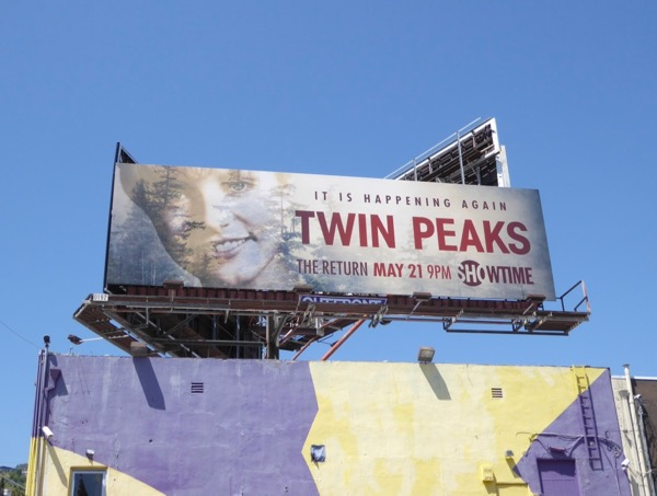 Twin Peaks Return 2017 billboard