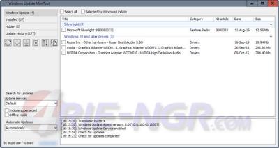 Windows Update MiniTool 30.07.2016 Latest Version