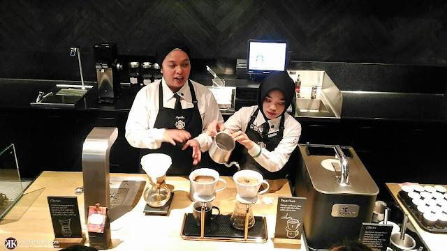 Ayesha, Coffee Master Starbucks Coffee, Genting Highlands,