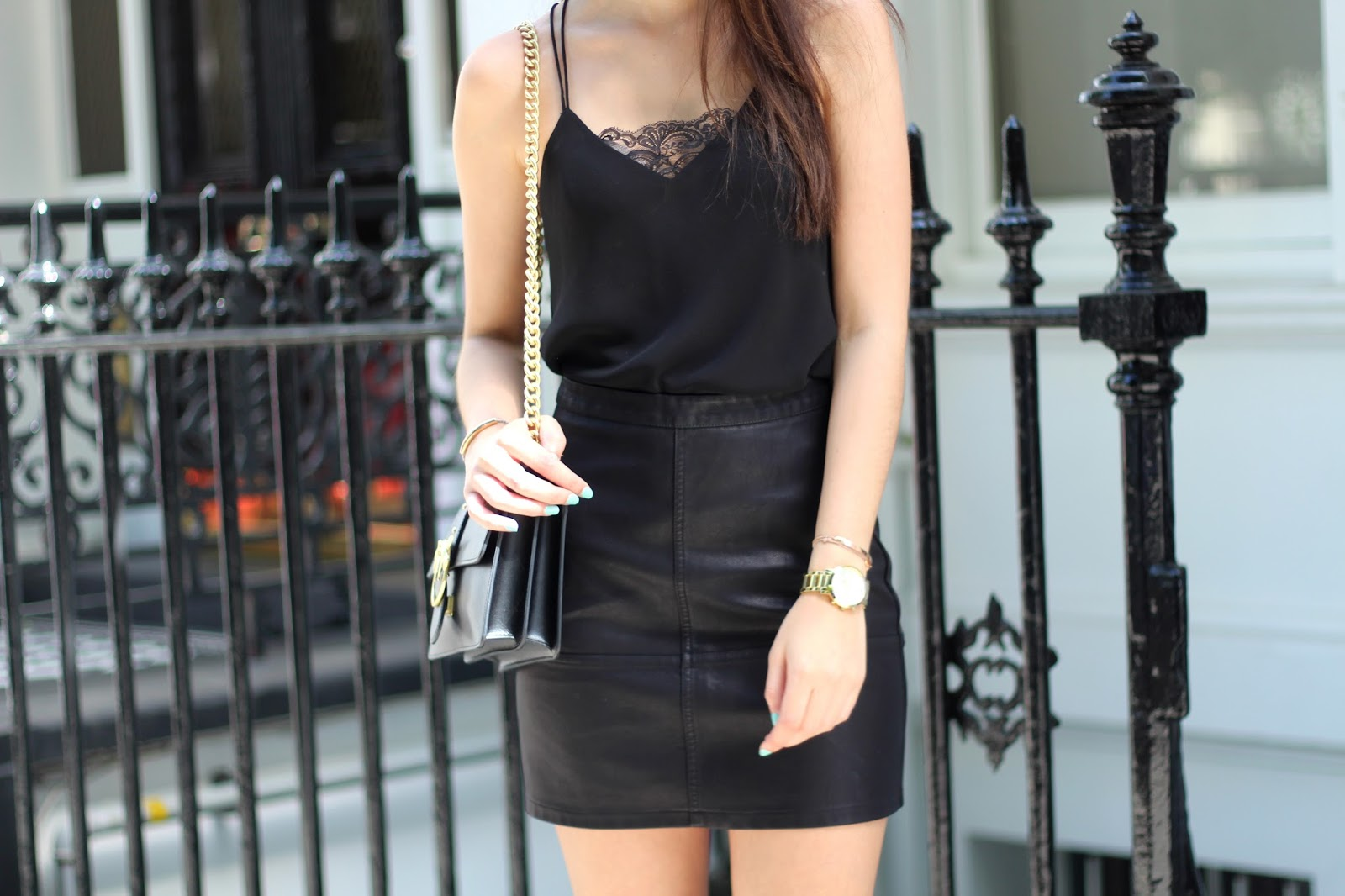 peexo fashion blogger all black summer