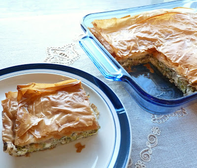 Brussels Sprouts Spanokopita