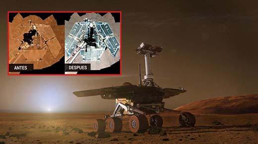 ¿Quién está limpiando los rovers marcianos de la NASA?