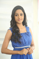 Divya Nandini stunning Beauty in blue Dress at Trendz Exhibition Launch ~  Celebrities Galleries 038.JPG