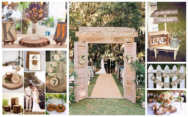 Tổ chức tiệc cưới theo phong cách rustic