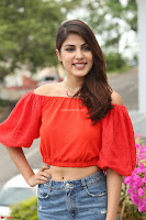 Rhea Chakraborty in Red Crop Top and Denim Shorts Spicy Pics ~  Exclusive 052.JPG
