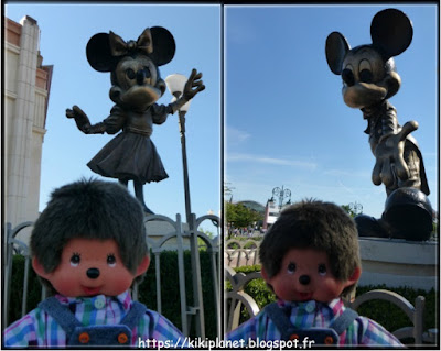 Bubbles Monchhichi Minnie Mickey Disneyland Paris