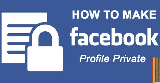 How to make facebook private