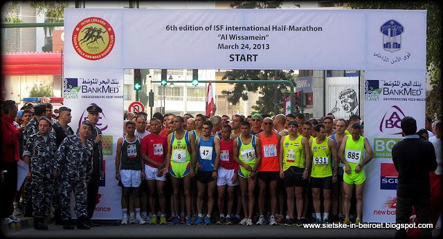 The ISF International Half-Marathon