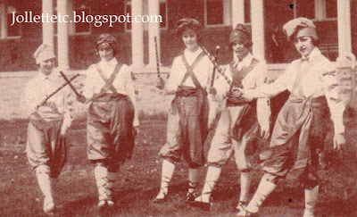 Morris Dancers May Day 1923 Harrisonburg Normal School http://jollettetc.blogspot.com