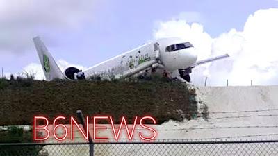 Fly Jamaica jet crash-lands