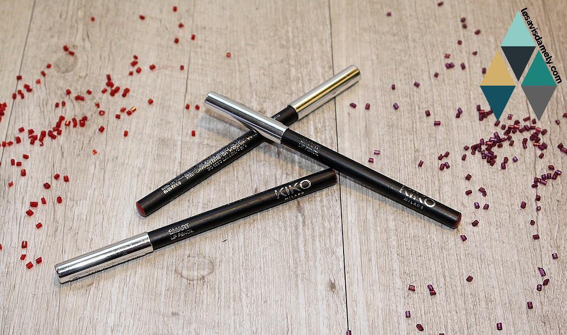 Astuces Pour Des Lèvres Mates Avec Les Crayons Kiko Les
