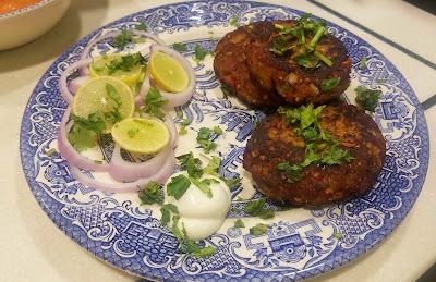Mutton Chapli Kebabs, kebab recipe www.thehoggerz.com