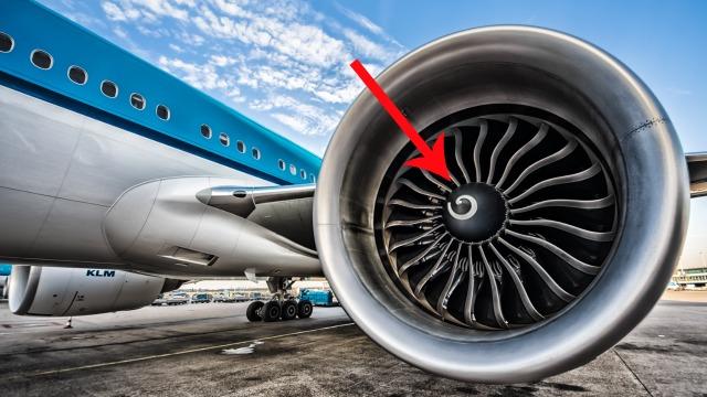 Inilah Fungsi Lingkaran Putih Dalam Setiap Enjin Kapal Terbang
