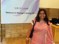 Oriflame Distributor Jashmi Waghela