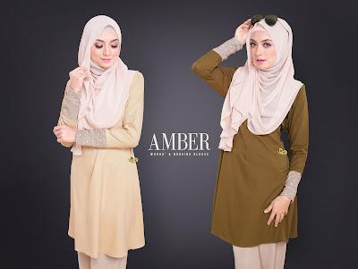 blouse cantik amber norzi