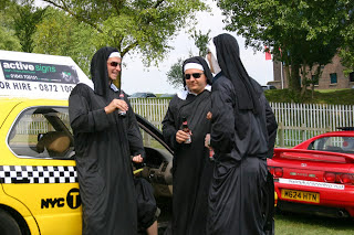 Nuns in the Taxi