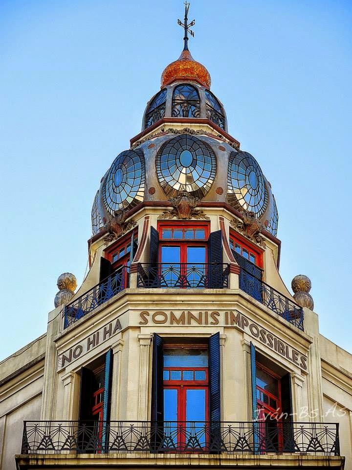 La lapicera: Art Nouveau/ La casa de los Pavos reales y ...
