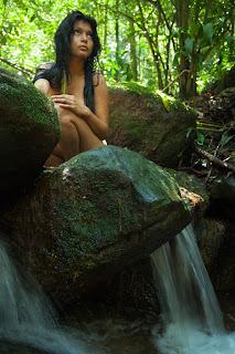 IMAGEM - Zahy Guajajara, modelo indígena