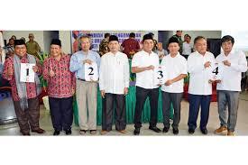 Vote atau Polling Pasangan Calon Kepala Daerah Bupati Tapteng 2017