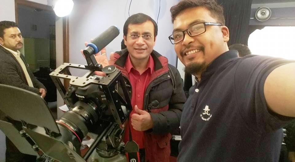 मैथिली फिल्म बना लाभार्जन संभव: अमितेश शाह