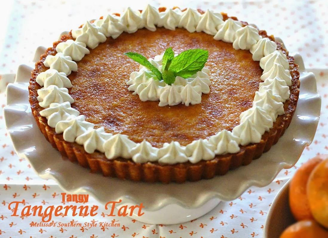 Tangerine Tart image
