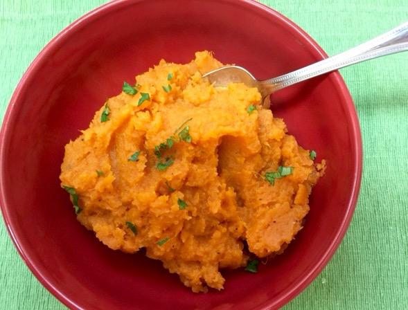 The Briny Lemon: Maple Mashed Sweet Potatoes