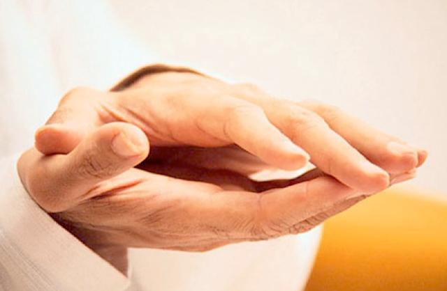 Oshoの手の写真