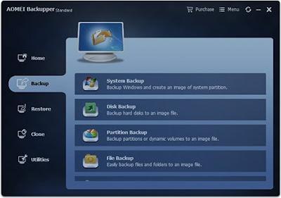 Τα καλύτερα δωρεάν backup προγράμματα-AOMEI Backupper