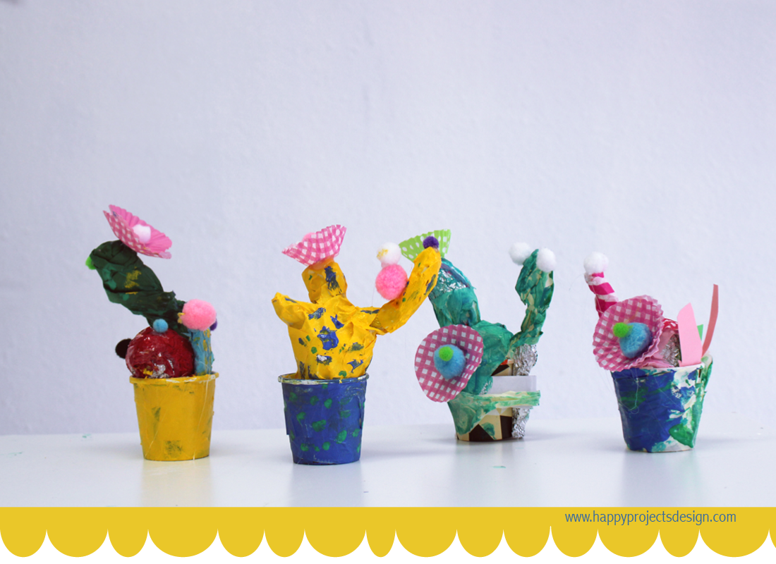 diy plantas de colores
