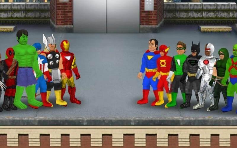 Baixar Super City (Superhero Sim) v 1.212 apk MOD