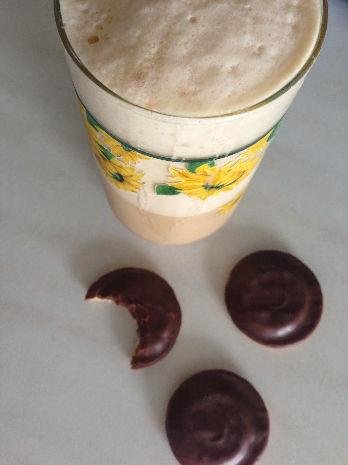 Eiskaffee mit Vanille