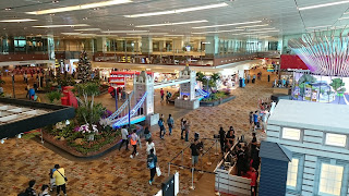 Christmas at Changi Airport