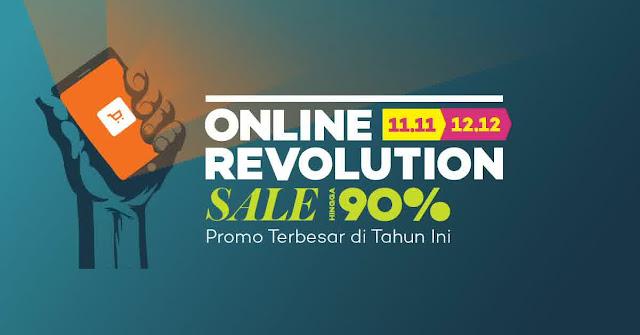 hari belanja online nasional, online revolution, flash sale, promo akhir tahun