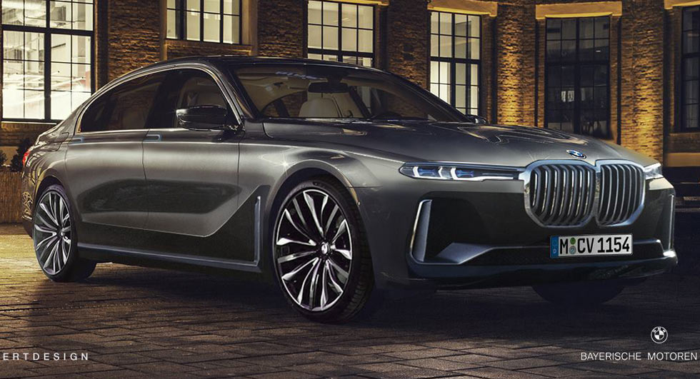 2022 BMW 7-Series Penned With X7 iPerformance Concept's ...