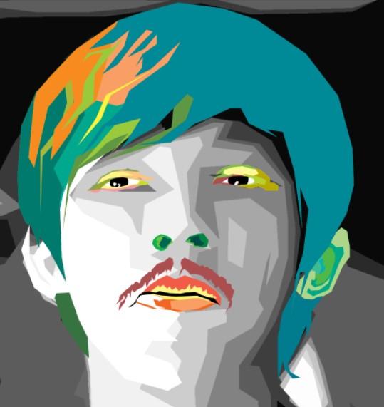 Edit foto wajah jadi warna warni 13