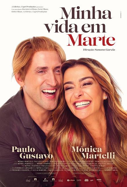 Minha Vida em Marte com Monica Martelli e Paulo Gustavo: eu vi