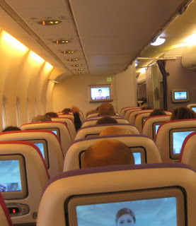 Thai A380 innen Economy