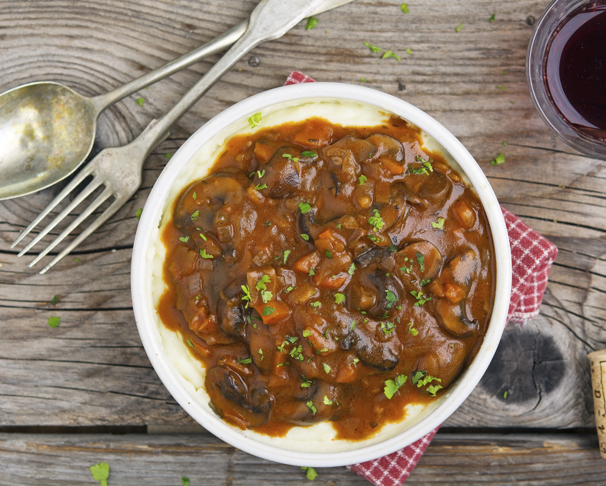 The Iron You: Mushroom Bourguignon