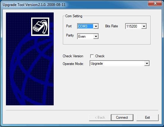 Upgrade Tool Version2.1.0