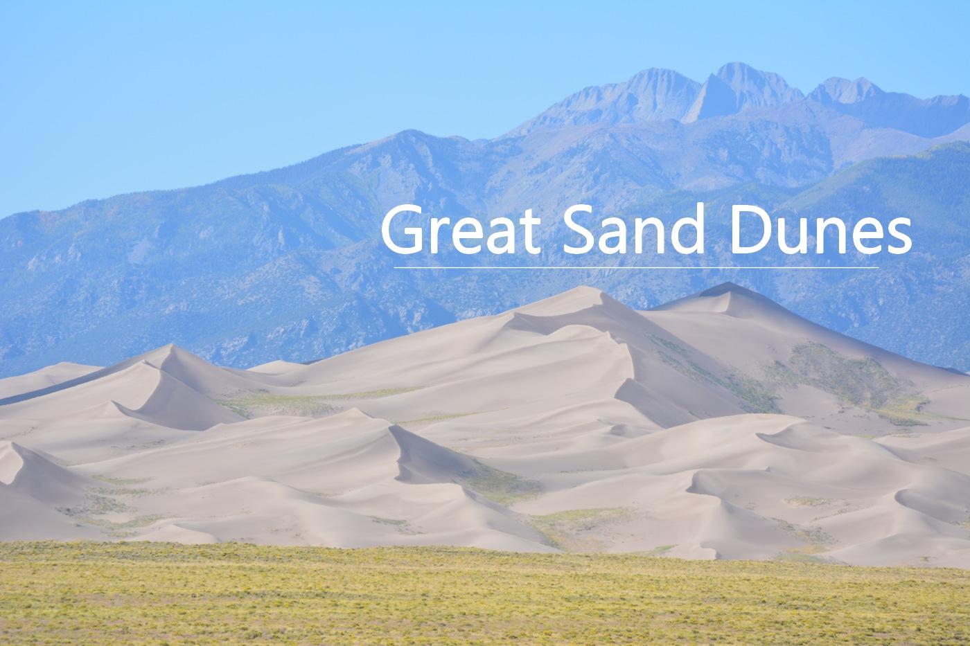 Parc national de Great Sand Dunes